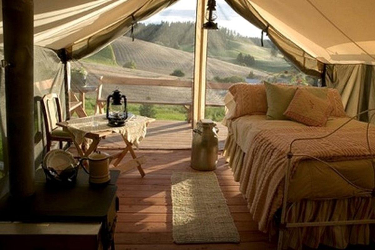 Pet Friendly Glamping