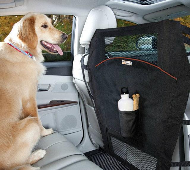 Kurgo Auto Pet Barrier with Mesh Window   TripsWithPets com